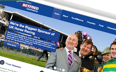 Responsive Wordpress based microsite. Designed and built by me for Betfredcorporate.com